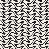 Hand Drawn Vertical ZigZag Lines. Abstract Geometric Background Design.