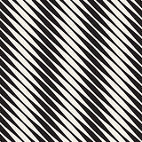 Vector Seamless Black and White Halftone Diagonal Lines Pattern
