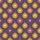 Seamless pattern with balls for packaging, textile or web