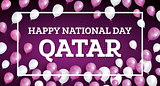 Happy National Day Qatar.