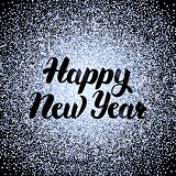 Happy New Year Silver Design