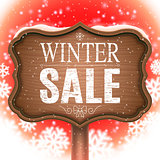 Winter Sale Signboard