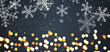 Dark gray festive Christmas background