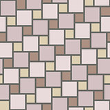 Vector pastel tiles seamless pattern