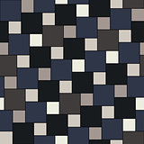 Vector dark tiles seamless pattern