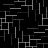 Vector black tiles seamless pattern