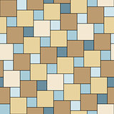 Vector sand tiles seamless pattern