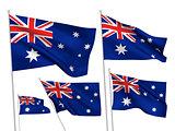 Australia vector flags