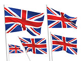 Great Britain (UK) vector flags