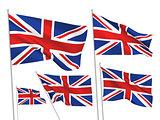 Great Britain (UK) vector flags