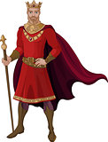 Fantasy King in Red