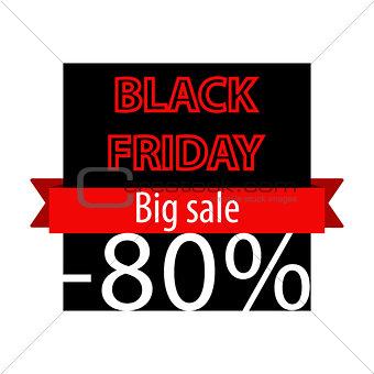 Black Friday offer banner template