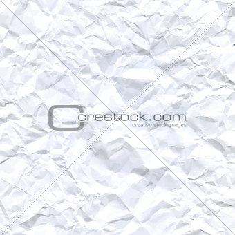A crumpled paper design. Vector Background illustration.