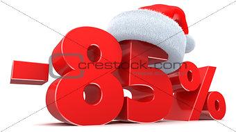 85 percent discount