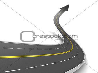 forward road