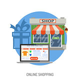 Internet Shopping Concept
