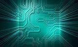 Background conceptual image of digital money symbol