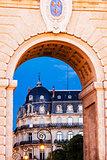 Porte du Peyrou in Montpellier