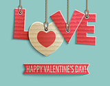 happy Valentine's day design