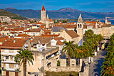 UNESCO town of Trogir waterfront and architecture