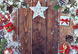 Xmas grunge decoration background