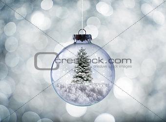 Crystal Christmas ball