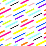 Abstract diagonal sticks seamless vector pattern.