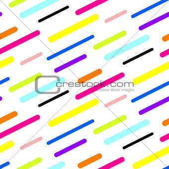 Abstract diagonal sticks seamless vector pattern.
