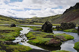 Eldgja canyon, south Iceland