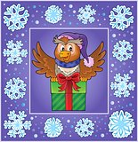 Christmas decorative greeting card 4