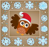 Christmas decorative greeting card 5