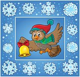 Christmas decorative greeting card 7