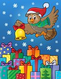 Christmas owl theme image 6