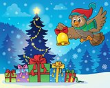 Christmas owl theme image 7