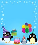 Party penguin theme image 3