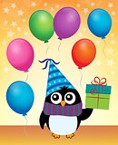 Party penguin theme image 4