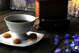 Coffee and amaretti