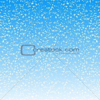 Abstract Christmas background with snowflakes. Vector illustrati