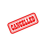 cancelled grunge vintage stamp