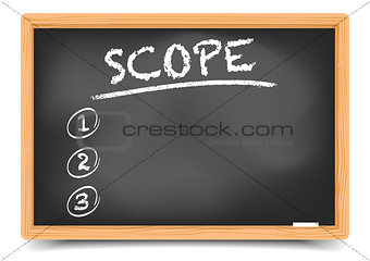 Blackboard List Scope