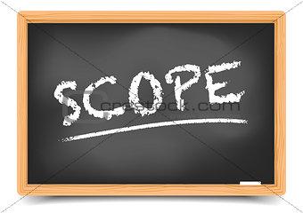 Blackboard Concept Scope