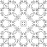 Seamless abstract vintage white pattern