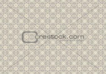 Chain Wire Mosaic
