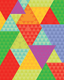 Colorful Triangle Background