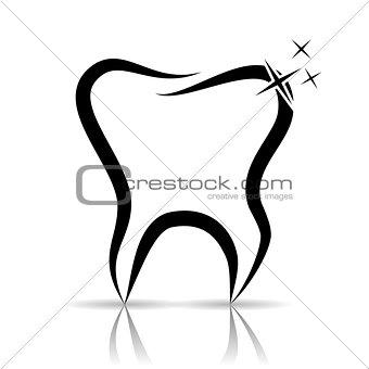 Tooth as a dental symbol