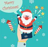 Christmas for mobile app.
