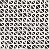 Hand Drawn Line Lattice. Vector Seamless Black and White Pattern.