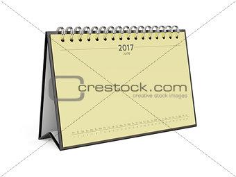 Calendar for 2017 june