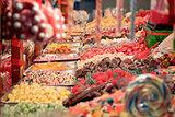 Candies for sale on Belgrade Christmas Market