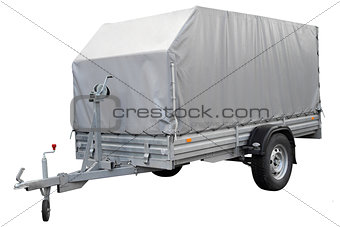 Grey Car trailer.